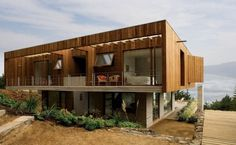Casa el Pangue by Elton Leniz Architects #sexy #wood #architecture #chile #cement