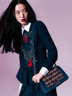 Tian Yi by Stockton Johnson for Vogue China