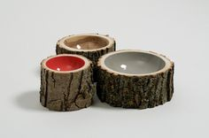 Log bowls by Loyal Loot #wood #natural #style #bowls