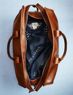 Twitter #ll #travel #ralph #bean #lauren #leather #bag