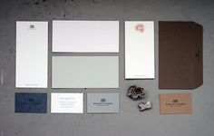Barlow & Bishop « Stitch Design Co. #branding #identity #stationary