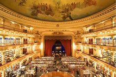 Flavorwire » The 20 Most Beautiful Bookstores in the World #bookstore #aires #buenos