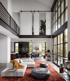 living room / Olson Kundig and Geremia Design