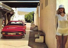Girls and Classic Car Advertisements | Funtasticus.com Humor & Fun Blog