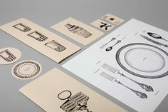 Cafe Kafka #stationary #branding #engraving #illustration #identity