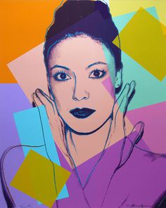 Andy Warhol Karen Kain, 1980 Screenprint on Lenox Museum Board with diamond dust Signed by Andy Warhol and Karen Kain