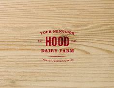 Hood Dairy Farm - Kimberly Gim #branding