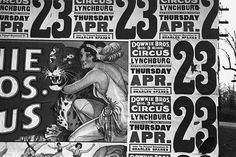 File:Flickr - …trialsanderrors - Walker Evans, Posters covering a building to advertise a Downie Bros. circus, Lynchburg, South Carolina, 1936.jpg - #photography