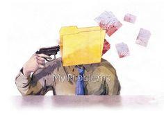 Dmitriy Rebus Larin | Art Sponge #rebus #my #paint #illustration #problems #dmitriy #larin