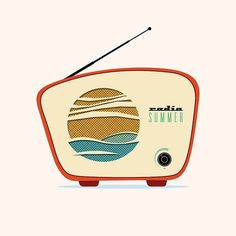 All sizes | radio_summer | Flickr - Photo Sharing! #radio #anthem #illustration #summer #device