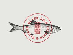 Blackship Imperial Seal #fishtown #illustration #fish
