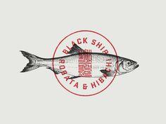 Blackship Imperial Seal #fishtown #illustration #fish