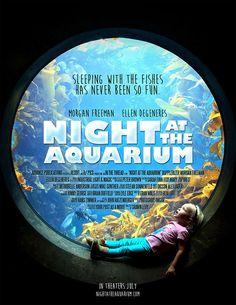 Night at the aquarium