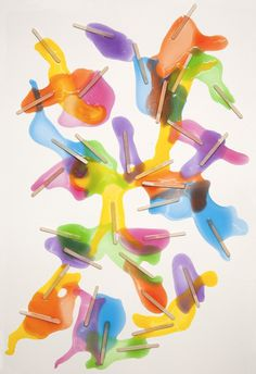 Popsicles #colors #pop #informal