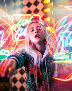 Futuristic Moody Portrait Photography by Alexander Kurnosov