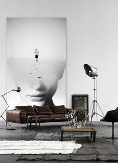 CJWHO ™ (Think big: Print big!) #white #print #design #interiors #illustration #art #luxury