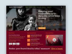 SaveTheWorld: Free Responsive Charity HTML Template