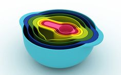 Kitchenware by Morph – Fubiz™ #color #bowls