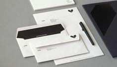 minke #logo #branding #identity #envelope #atipo #stationery