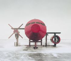 Analogue Film + Polaroid Photography Reuben Wu #red #airplane #rueben #soviet #photography #wu