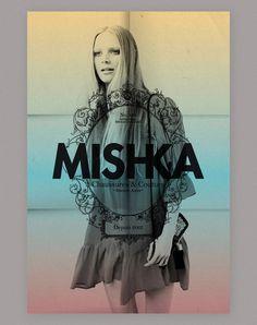 Mishka www.gabrielpardo.com.ar #pardo #logo #mishka #poster