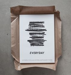 Everyday — Albin Holmqvist #inspiration #typography
