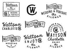 Charlotte Wattson by Jorgen Grotdal #letterings