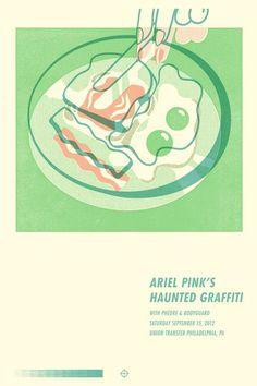 Ariel Pink! Mikey Burton / Designy Illustration #poster