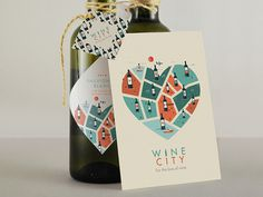 Wine City Branding // For the love of wine