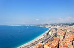 Europe Road Trip (Nice, France) #france #nice #birdseye #sea #photography #nature #summer #beach