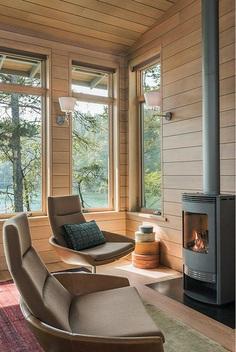 Fontana Lake House, Samsel Architects 8