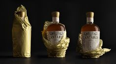 Rum Bottle. Santaren by Estudio Maba
