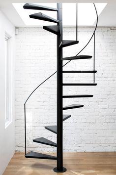 Espace Panet by Anne Sophie Goneau Design. #annesophiegoneaudesign #spiralstaircase #minimal