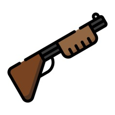 See more icon inspiration related to hunter, gun, crime, pistol, arm, miscellaneous, shotgun, weapon and security on Flaticon.