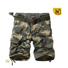 Military Camouflage Cargo Shorts CW140197