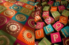 Alexander Girard Alphabet Blocks | Love Made Visible #typography