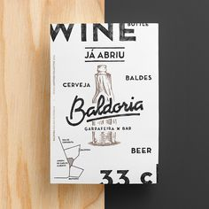 Baldoria Bar branding #visual #identity #branding #stationery