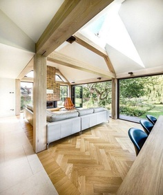 Mill House: An 18th Century Watermill House Gets a Contemporary Extension 9