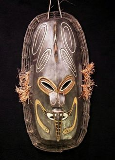 Angoram Village Ancetory Clan Mask | Expedition Cargo #tribal #guinea #mask #art #new
