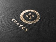 Kravcy, Beetroot Graphics #logo #foil #texture #mark #button