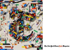 DFC Illustration : damienflorebertcuypers.com #lego #times #design #cover #york #magazine #new