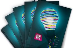 [Free] Light Bulb Artwork Folder Design Template for Adobe Illustrator