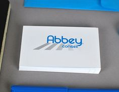Abbey Conseil - graphicwand #logotype #abbey #business #card #design #graphic #corporate #identity #conseil