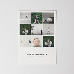 Joy (Multi-image) - Holiday Photo Cards - Cards #cards