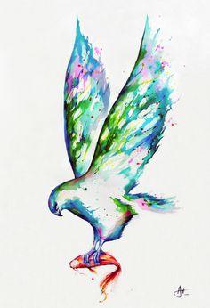 CJWHO ™ (Watercolors by Marc Allante Hong Kong born...)