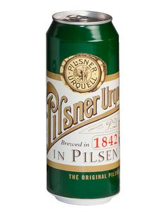 Pilsner Urquell Limited Edition Cans #packaging #beer #can #label