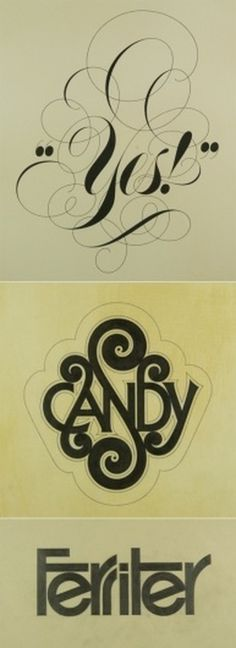 Tom Carnase | AisleOne #typography #lettering #tom carnase