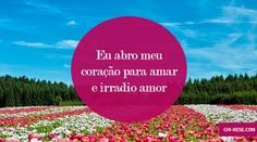 Afirmações positivas para atrair amor