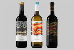 Rojalet by Atipus #bottles #wine #labels