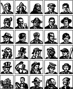TCM Heads #classic #icons #tcm #heads #logo #movies #turner